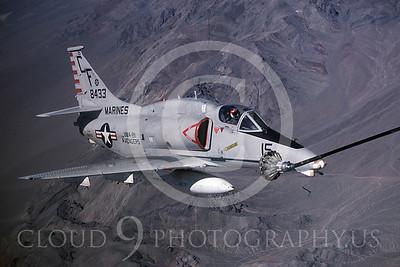 ARA4 00002 Douglas A-4 Skyhawk US Marine Corps 8433 VMA-211 Avengers by Peter J Mancus