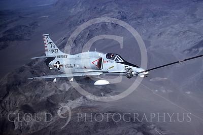 ARA4 00001 Douglas A-4 Skyhawk US Marine Corps VMA-211 8433 airplane picture by Peter J Mancus