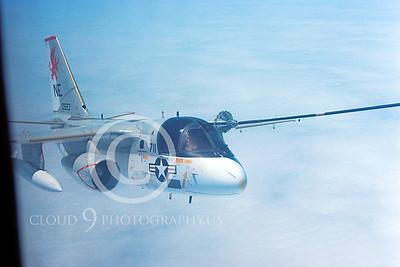 ARS3 00002 Lockheed S-3Viking US Navy VS-38 0593 June 1985 by Peter J Mancus