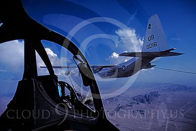 ARA4 00003 DouglasTA-4J Skyhawk and Lockheed KC-130R Hercules August 1982 by Peter J Mancus