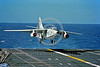 A-3-USN-Generic 004 A Douglas A-3 Skywarrior USN Cold War era strategic carrier based bomber PR code landing on an aircraft carrier, USN photo via Tailhook Col  produced by www cloud9photography us     DONEwt