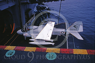 ACCSKA6D 00001 Grumman KA-6D Intruder 152910 VA-165 USS Constellation August 1982 by Peter J Mancus