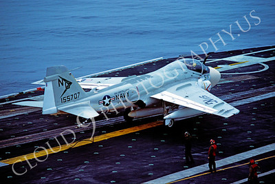ACCSA6 00007 Grumman A-6E Intruder VA-165 USS Constellation 1982 by Peter J Mancus