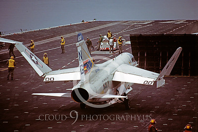 ACCSA7 00020 Vought A-7E Corsair II VA-146 US Navy July 1982 by Peter J Mancus
