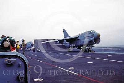 ACCSA7 00007 Vought A-7E Corsair II on catapault by Peter J Mancus