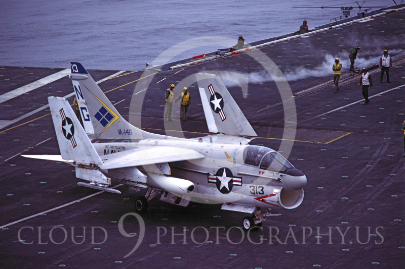 ACCSA7 00006 Vought A-7 Corsair II of VA-146 USS Constellation by Peter J Mancus