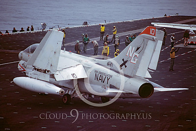 ACCSA7 00021 Vought A-7E Corsair II 157551 VA-147 USS Constellation by Peter J Mancus