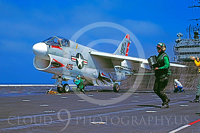 ACCSA7 00010 Vought A-7E Corsair II US Navy August 1984 by Peter J Mancus