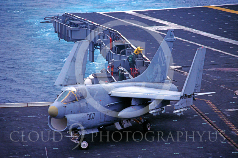 ACCSA7 00004 Vought A-7E Corsair II June 1983 by Peter J Mancus