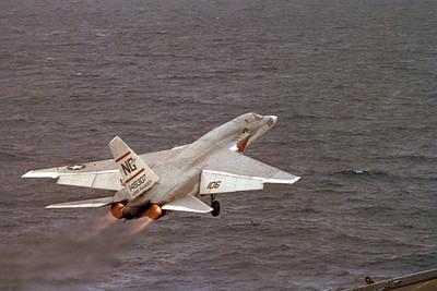 ACCSRA5C 00008 North American RA-5C Vigilante 149307 USS Ranger Official US Navy Photograph