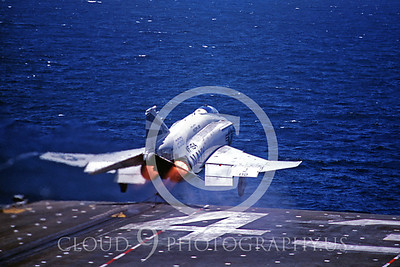 ACCSF4 00012 McDonnell Douglas F-4 Phantom II 2981 VF-154 USS Coral Sea 8-1982 by Peter B Lewis