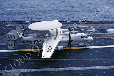 ACCSE2 00003 Grumman E-2 Hawkeye 8646 VAW-112 USS Constellation by Peter J Mancus
