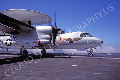 ACCSE2 00004 Grumman E-2 Hawkeye on catapault by Peter J Mancus