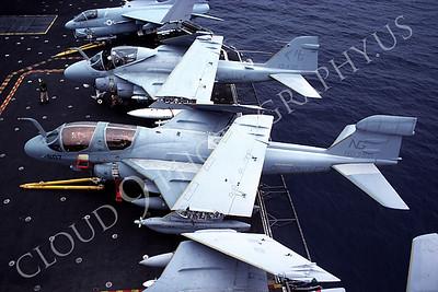 ACCSEA6B 00001 Grumman EA-6B Prowler US Navy June 1983 by Peter J Mancus