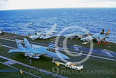 ACCSF14 00013 Grumman F-14 Tomcat US Navy 1997 by Carl E Porter