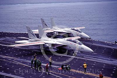 ACCSF14 00002 Grumman F-14 Tomcat VF-24 June 1983 by Peter J Mancus