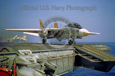 ACCSF14 00009 Grumman F-14 Tomcat AB tail code official US Navy photograph