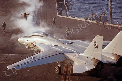 ACCSF14 00020 Grumman F-14 Tomcat NJ tail code by Peter J Mancus
