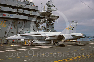 ACCSF18 00024 McDonnell Douglas F-18 Hornet VFA-146 CAG 4 Aug 1994 by Renato E F Jones AASS
