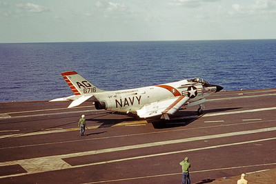ACCSF3 00001 McDonnel F-3 Demon 6716 VF-41 USS Independence official US Navy photograph