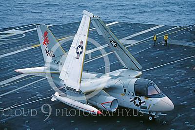 ACCSS3 00006 Lockheed S-3 Viking 0588 US Navy July 1982 by Peter J Mancus