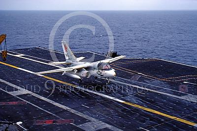 ACCSS3 00005 Lockheed S-3 Viking 0159 USS Constellation US Navy July 1992 by Peter J Mancus