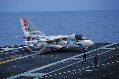 ACCSS3 00022 Lockheed S-3 Viking 588 VS-38 USS Constellation August 1982 by Peter J Mancus