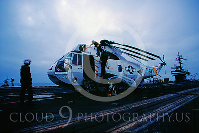 ACCSSH3 00002 Sikorsky SH-3H Sea King US Navy July 1982 by Peter J Mancus