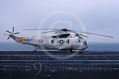 ACCSSH3 00004 Sikorsky SH-3H Sea King 9919 HC-1 USS Coral Sea by Peter J Mancus