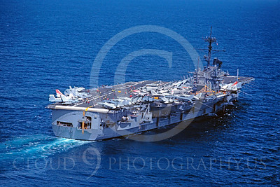 ACCS 00004 USS Ranger April 1983 by Peter J Mancus