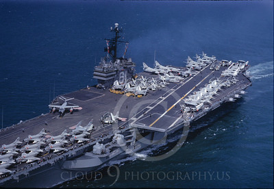 ACCS 00009 USS Ranger August 1961 by William T Larkins