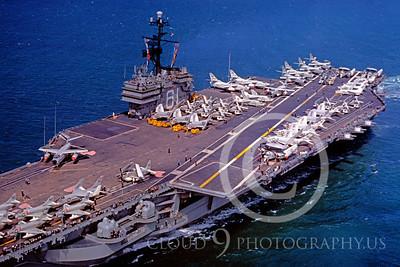 ACCS 00012 USS Ranger August 1961 by William T Larkins
