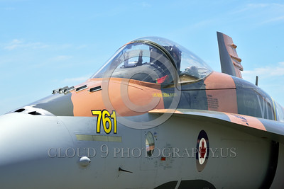 F-18Forg 00309 Close up of a static Canadian Armed Forces McDonnell Douglas CF-18 Hornet jet fighter 188761 with rare Battle of Britian color scheme military airplane picture at 5-2015 Chino air show by Peter J Mancus