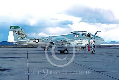 BICEN-A-6 00003 Grumman A-6 Intruder USN VA-145 Oct 1978 by Peter J Mancus