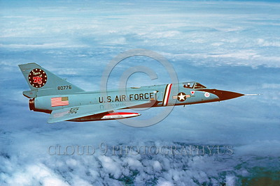 BIC-F-106USAF 00003 A Convair F-106A Delta Dart USAF 80776 318th FIS GREEN DRAGONS SPIRIT OF 76 FREEDOM BIRD 8-1977 military airplane picture via African Aviation Slide Service
