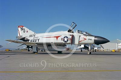 BICEN-F-4 00025 McDonnell Douglas F-4 Phantom II VF-121 USN by Peter J Mancus