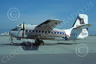 S-2USN 00039 A static Grumman US-2B Tracker USN 136441 VT-31 Wise Owla BICENTENNIAL NAS Moffett 3-1977 military airplane picture by Michael Grove, Sr
