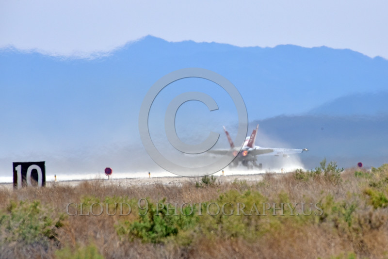 F-18USN 00007 VF-102's DIAMONDBACKS' colorful red and white McDonnell Douglas F-18 Hornet jet fighter CAG bird takes-off in afterburner at NAS Fallon 3-2016 military airplane picture by Peter J  Mancus