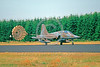 CHUTE-F-5Forg 00001 A Northrop F-5 Freedom Fighter Dutch Air Force rolls out with deployed chute military airplane picture by Wilfried Zetsche