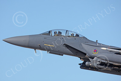 CUNMJ 00004 McDonnell Douglas F-15E Strike Eagle US Air Force by Peter J Mancus