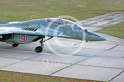 CUNMJ 00011 Mikoyan-Gureyvich MiG-29 Fulcrum Soviet 1993 by W Zetsche via AirDOC Collection