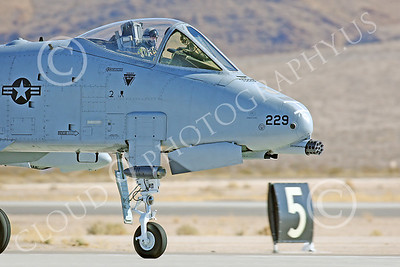 CUNMJ 00003 Fairchild A-10 Thunderbolt II US Air Force by Peter J Mancus