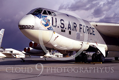 B-52 00035 Boeing B-52 Stratofortress March AFB Dec 1968 by Peter J Mancus