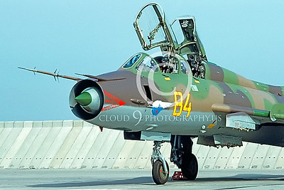 CUNMJ 00013 Sukhoi Su-17 Fitter Soviet 1993 by Wilfried Zetsche AirDOC Collection