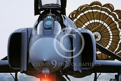 CHUTE 00020E McDonnell Douglas F-4 Phantom II by Peter J Mancus