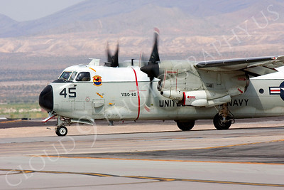 CUNMP 00007 Grumman C-2 Greyhound US Navy VRC-40 Nellis AFB by Peter J Mancus