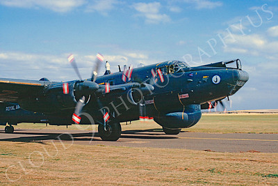 CUNMP 00005  Avro Shackleton British RAF October 1990 by Peter J Mancus