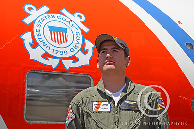 ACM 00380 US Coast Guard Lockheed HC-130M Hercules air crew member by Peter J Mancus