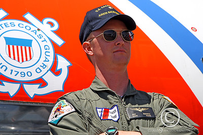ACM 00376 US Coast Guard Lockheed HC-130M Hercules pilot by Peter J Mancus