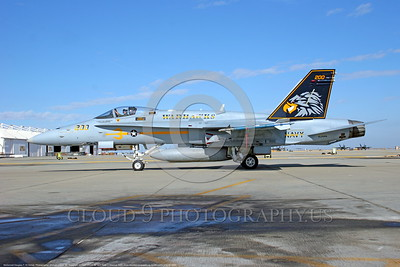 F-18C-USN-VFA-97 0001  A static McDonnell Douglas F-18C Hornet USN jet fighter 163444 VFA-97 WARHAWKS commanding officer's airplane NAS Lemoore 10-2005 military airplane picture by Michael Grove, Sr      DONEwt